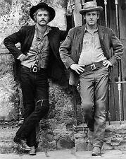 1969 Robert Redford & Paul Newman Butch Cassidy & The Sundance Kid 8x10 Photo