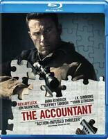 THE ACCOUNTANT NEW BLU-RAY DISC