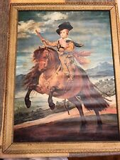 El Prince Balthasar 1635 painting on canvas by Diego Velazquez #352