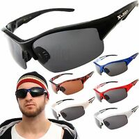 02dc3e3b78 Polarized X-Loop Wrap Sunglasses Mens Sports Cycling Fishing Golfing Glasses