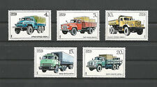 USSR 1980...Sol. n° 5751-5755...MNH **...Soviets Trucks...Грузовики ... Camions