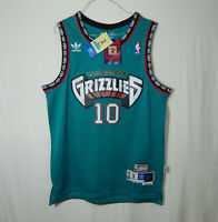 NWT Mike Bibby Vancouver Grizzlies NBA Basketball Jersey ADIDAS Soul Swingman S
