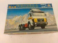 Italeri Lorry Model Kit No 756 1:24 Scale MAN 6x4 Formula 6
