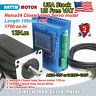 【US free】NEMA 34 CNC 12N.m Closed Loop Stepper Motor Encoder Hybrid Servo Driver