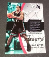 Shane Battier 2003-04 Fleer E-X Net Assets Jersey Card #SB-NAJ Miami Heat