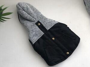 Pet Fleece Harness Vest Jacket Jumper Sweater Coat for Small Dog UK