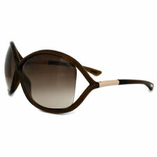 Occhiali da sole da donna farfalle Tom Ford marrone