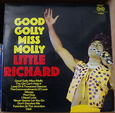 LITTLE RICHARD GOOD GOLLY MISS MOLLY  UK PRESS LP