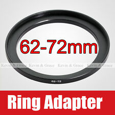 62mm to 72mm Male - Female Lens Step Up Ring Adapter 62-72 Lens Hood Cap Filters