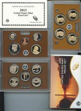 ****Beautiful Low Mintage 2013 (14 coin) Proof Set****