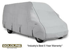 Goldline Class B RV Conversion Van Cover Fits 22 to 24 FT Grey