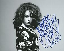 Cher Lloyd *WANT YOU BACK* Signed 8x10 Photo AD1 COA GFA