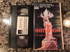 The Initiation Vhs! 1984 Sorority Slasher! The House On Sorority Row Maniac
