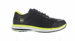 Timberland Mens Drivetrain Black/Yellow Safety Shoes Size 10.5 (Wide) (1823968)