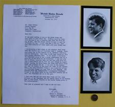 John F.Kennedy & Robert Funeral Mourning card set & great Truman content letter!