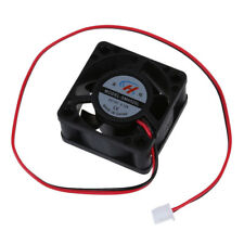 New Black Plastic 12V DC 40mm 20mm 2 Wire Computer PC CPU Cooling Case Fan X6K3