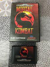 Mortal Kombat, Sega Mega Drive 1/2 (PAL-FR) TBE