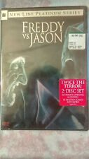 Freddy vs. Jason (Dvd, 2004, Platinum )2x Terror 2 Disc set 18 deleted scenes +