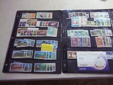 ST VINCENT STAMPS NH Collection With Face Value Of $180+ On Stock Pages
