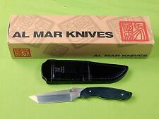 Japan Japanese  AL MAR Rexroat Design Backup Model 1 Fighting Knife Sheath Box
