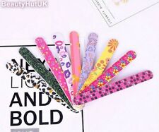 Colourful Double Sided Printed Nail Files - Multi Buy Discount