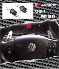 Aluminium DSG Shifters Steering Wheel Paddle Extensions SILVER VW Golf mk5 mk6