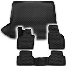 Gummi Kofferraumwanne Fußmatten Set für Audi Q3 Laderaumwanne Matten