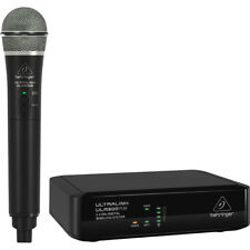 Behringer ULM300MIC Wireless Handheld 2.4GHz Digital Microphone Stage Vocal Mic