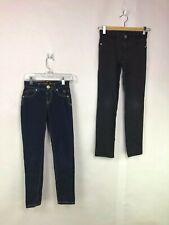 Girls Simply Low Jean Lot of 2 Size 8 Denim Pants