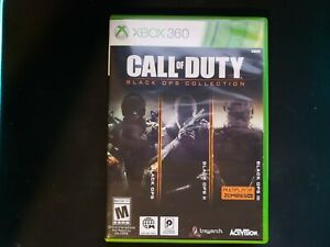Call of Duty Black Ops Collection (Microsoft Xbox 360) Authentic - Complete CiB