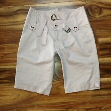 Marc Jacobs Bermuda Shorts Size 4 Womens Pink Rolled Cuff