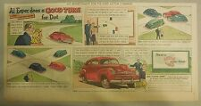 "Ford  Ad: ""Al Esper Does a Good Turn for Dot""  from 1940's"