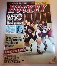 Sports special NHL Magazine December 1972 Bobby Orr Cover