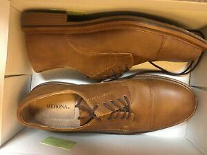 Mens Merona Abbot Brown Oxford Cap Toe Shoes Size 7