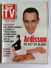 TV Magazine du 14/12/2003;  Ardisson de But en Blanc, Béatrice Ardisson/ Gerra L