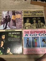 THE SUPREMES - 4 Record lot - Love Child- Where Did Our Love Go-A Go Go- Sing