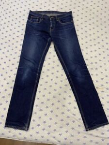Gucci Jeans Men's Blue Denim Blue Relaxed Straight Size 46 / M Made in Italy