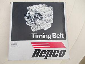 Timing Belt  T026 Repco Citroen GS 1.3L 4 cyl 1977-83 free post
