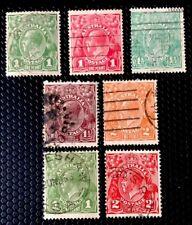 Austrailia Stamps King George V Used