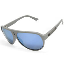 Dragon Experience II 720-2211 Matte Grey/Blue Mirror Men's Aviator Sunglasses