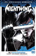 NIGHTWING VOL #1 BETTER THAN BATMAN TPB Collect #1-4, 7-8 + Rebirth DC Comics TP