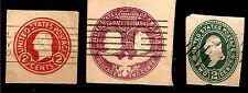 U.S.A.oblit.Timbres imprimés sur papier,Stamped wrappers, 2 cents obliterate SP5