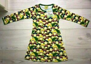 Duns Sweden dress mushroom size 98 cm