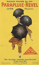 Original Vintage Poster Parapluie-Revel Cappiello 1922