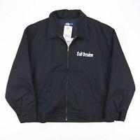 DICKIES Black Quilt Lined Lightweight Worker Jacket Men's Size XL BNWT