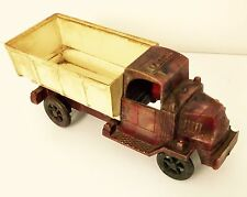 Vintage Antique Mack Ac Bulldog Model Truck Plastic Toy Circa 1960's 1970's
