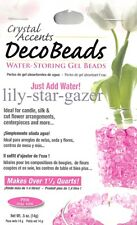 Pink Deco Beads - Water Storing Spherical Gel Beads - Floristry Crystal Accents