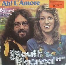 "7"" san remo 1974 MINT -! Mouth & MacNeal; Ah l 'amore"