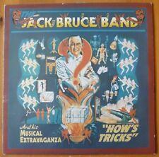 "The Jack Bruce Band How's Tricks 12"" Vinyl LP Album RSO Records 2394 180 VG/EX"