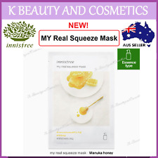 5 pieces x [INNISFREE] My Real Squeeze (MANUKA HONEY) *NEW 2017! 20ml